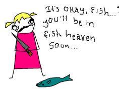 Hyperbole and a Half: How a Fish Almost Destroyed My Childhood