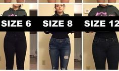 Woman Poses In Varying Pants Sizes To Make A Point About Body Image   Deena Shoemaker was organizing her closet when she was struck by the realization that her pants come in a range of dramatically different sizes, and that her size 6 pants fit her exactly the same way a size 12 did.