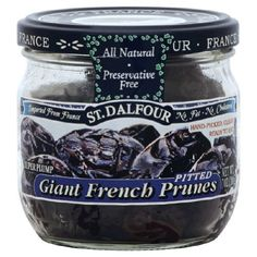 Charles Jacquin-St.Dalfour Prunes, Pitted Giant Frnch, 7-Ounce (Pack of 6) -- Check out the image by visiting the link.