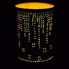 lanterne boîte de conserve