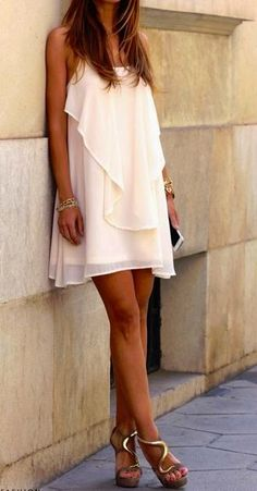 Just bought one very close to this. I love summer slip-dresses.