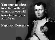 Image result for napoleon bonaparte quotes on war