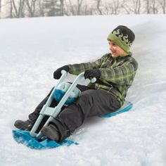 Tear down the hill at blistering speeds over either groomed snow or fresh powder on the Snow Carver.