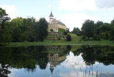Raduň castle in Silezia, Czech republic. Czech Republic, Castle, Traveling, Mansions, House Styles, Home Decor, Viajes, Decoration Home, Room Decor