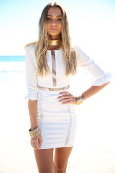 Maddie Panel Dress | SABO SKIRT