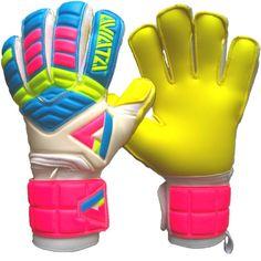 Aviata Stretta Light Bright Finger Protection Goalkeeper Gloves - model LTBRT1000