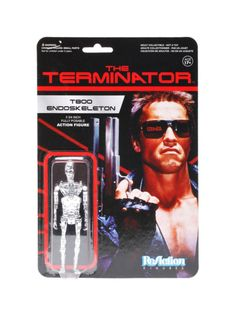Funko ReAction Terminator T800 3 3//4 Retro Style Action Figure Tech Noir
