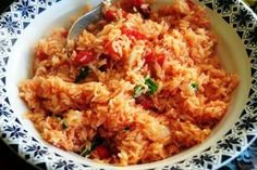 Portuguese Rice is a delicious food from Portugal. Learn to cook Portuguese Rice and enjoy traditional food recipes from Portugal.