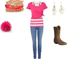 """""""Mrs.Cowgirl"""" by jessicajaybird on Polyvore"""