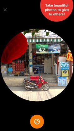 RANDO - Fotoleg - anonymt billeddeling uden likes - du får et billede et sært sted fra og sender et igen!