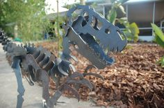 Hey, I found this really awesome Etsy listing at https://www.etsy.com/listing/193498108/dinosaur-in-3d-steel