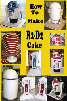 How To Make R2-D2 Cake