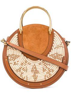 Achetez Chloé woven trim Pixie bag.