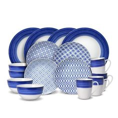 Bought 16 Piece Dinnerware Set when on sale.  Bought 2 sets and some extra plates.