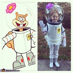 Jay: My daughter Riley Sabo. She loves spongebob so this year she wanted to be Sandy. All you need is a small garbage can and a street lamp light cover. Photo...