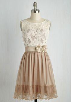 Bridesmaids Attire  - Home Sweet Scone Dress in Cappuccino