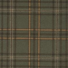 Brintons Abbeyglen Wexford Plaid, 14/38261, green, gold, tartan carpet