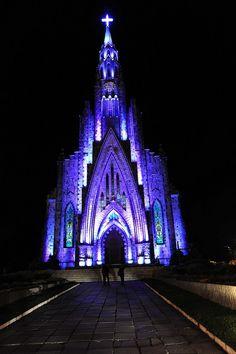 l Nossa Senhora de Lourdes (Catedral de Pedra) - Canela - RS - Brasil