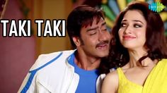 Watch the Song Video ''Taki Taki'' from the movie Himmatwala starring Ajay Devgn and Tamannaah Bhatia in the lead roles. Himmatwala is a Bollywood action romance film directed by Sajid Khan and is the Official remake of Jitendra's Himmatwala (1983). Song Name: Taki Taki Singer: Mika Singh, Shreya Ghoshal Music Composer: Sajid Wajid Movie: Himmatwala 2013 Lyricist: Indeewar