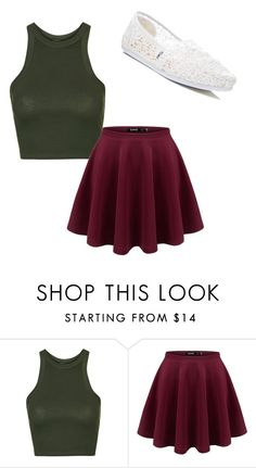 """""""Untitled #59"""" by ajot on Polyvore featuring Topshop and TOMS"""