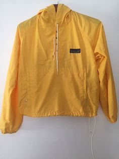 Vintage PATAGONIA Rain Hooded Jacket, Anorak Style; Men's Unisex SMALL Yellow | Clothing, Shoes & Accessories, Men's Clothing, Coats & Jackets | eBay!