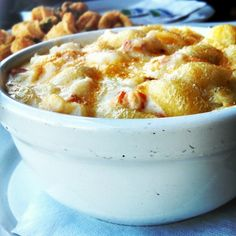 Cheesy! Try the #LobsterMacAndCheese at #KillerShrimp! Image posted to Instagram by @mysterious_hatter