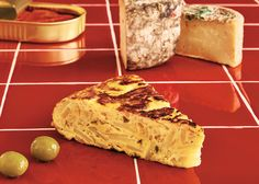 Tortilla Espanola - The King of Tapas - The New York Times (Notes: Made in 10 inch cast iron pan with a little less potato, 1/2 the onion, and 7 eggs. Should have covered for part of cooking. Made with pan con tomate)