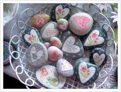painted rocks, rock!