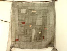 An old Korean art. Textiles, Textile Patterns, Textile Design, Strip Quilts, Mini Quilts, Crazy Patchwork, Hanging Curtains, World Of Color, Textile Artists