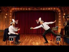 ▶ Faceketball with Bradley Cooper and Jimmy Fallon (Late Night with Jimmy Fallon) - YouTube