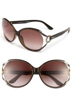 Salvatore Ferragamo 59mm Oversized Sunglasses available at #Nordstrom