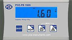 Balanza para paquetería PCE-PB 60N