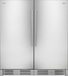 Frigidaire PRO Stainless Refrigerator & Freezer Combo FPRH19D7LF FPUH19D7LF With casing accessory kit