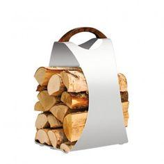 Hali Firewood Carrier - White