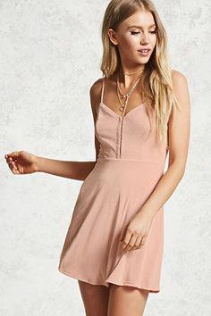 Hook-Eye Cami Dress