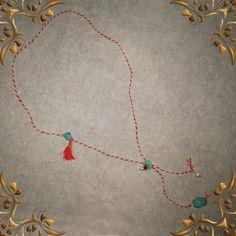 Κολιέ Μάρτης με πέτρες και μαργαριτάρι. Beaded Necklace, Necklaces, Bracelets, March, Jewellery, Handmade, Inspiration, Accessories, Jewerly