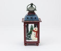Lanterna de Natal Azul 17 cm   A Loja do Gato Preto   #alojadogatopreto   #shoponline   referência 44265964