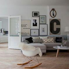 Salon #cocooning #tableau #scandinave