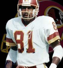 Art Monk of the Washington Redskins