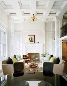 High ceilings + mill work