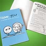 A LoveBook could contain all the memories of the year leading up to a first year wedding anniversary.