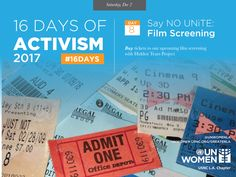 Join @UNWomenLA for the final event of 16 Days of Activism on Sunday, December 10th with an evening of film and talk with Hidden Tears Project. #16Days of Activism is an international campaign spearheaded by UN Women to challenge violence against girls and women. The campaign runs every year from November 25th (International Day for Elimination of Violence against Women) to December 10th (#HumanRightsDay). #globalgoals