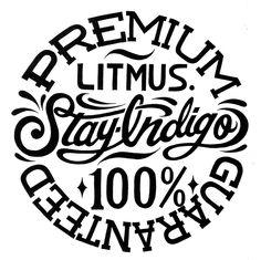 STAY INDIGO LITMUS. 2011. 420mm×298mm.