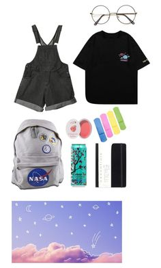 """""""space kid"""" by lemonscentedgay on Polyvore featuring 100% Pure"""
