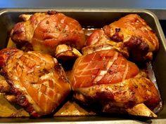 Golonka po bawarsku - Blog z apetytem Fried Chicken, Tandoori Chicken, Food Art, Carne, Grilling, Pork, Food And Drink, Cooking Recipes, Menu
