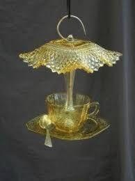 Image result for diy glass bird baths