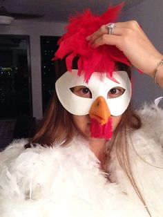 chicken diy costume