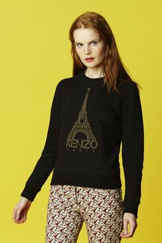 Kenzo KENZO Eiffel Tower sweatshirt - Kenzo Icons Women - Kenzo E-shop