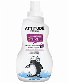 ATTITUDE Laundry Detergent, a natural and efficient option to fight stubborn laundry stains.