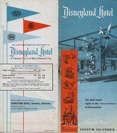 Disneyland Hotel Brochure